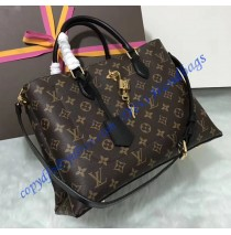 Louis Vuitton Monogram Canvas Flower Tote Noir M43550