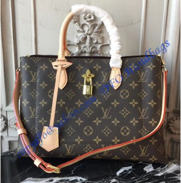 Louis Vuitton Monogram Canvas Flower Tote Beige M43551