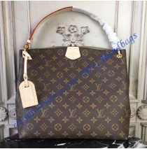 Louis Vuitton Monogram Canvas Graceful PM Beige M43701