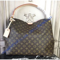 Louis Vuitton Monogram Canvas Graceful MM Pivoine M43703