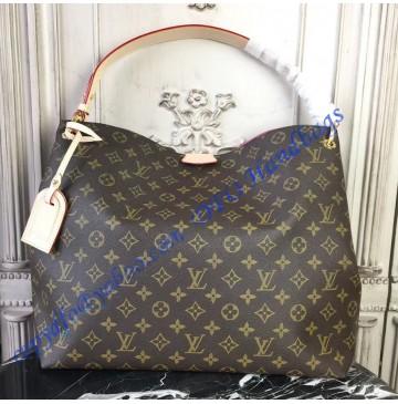 Louis Vuitton Monogram Canvas Graceful MM Pivoine M43703