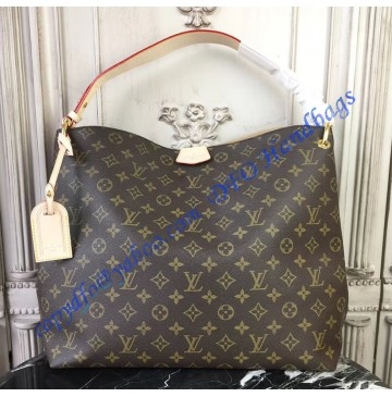 Louis Vuitton Monogram Canvas Graceful MM Beige M43704