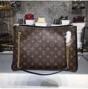 Louis Vuitton Monogram Canvas Surene MM Noir M43772