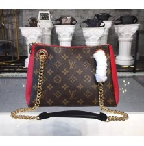 Louis Vuitton Monogram Canvas Surene BB with Cherry Leather M43776
