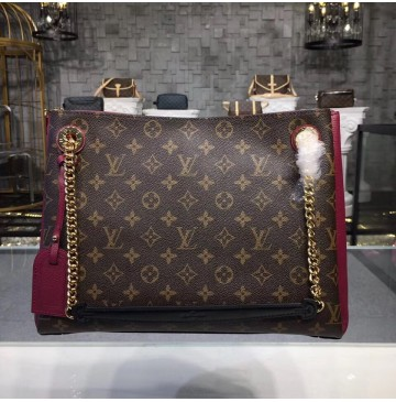 Louis Vuitton Monogram Canvas Surene MM Bordeaux M43864