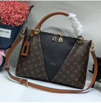 Louis Vuitton Monogram Canvas V Tote MM Noir M43948