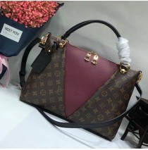 Louis Vuitton Monogram Canvas V Tote MM Bordeaux M43949