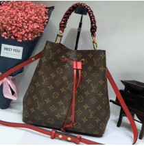 Monogram Canvas NéoNoé with braided handle M43985