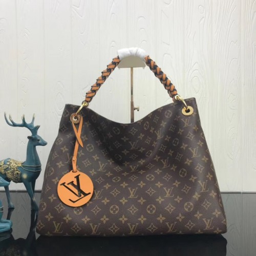 b817a98cbd7d Louis Vuitton Monogram Canvas Artsy MM with braided handle M43994. Loading  zoom