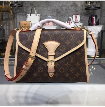 Louis Vuitton Monogram Canvas 2 Way Bel Air Briefcase M51122