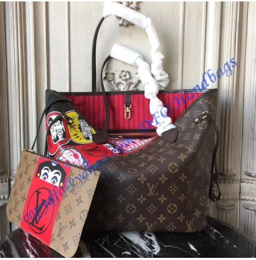 Louis Vuitton Monogram Canvas Kabuki Neverfull MM M43499