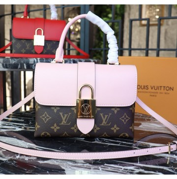 Louis Vuitton Monogram Canvas Locky BB Rose Poudre M44080