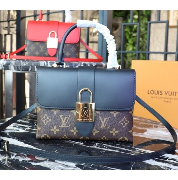 Louis Vuitton Monogram Canvas Locky BB Noir M44141