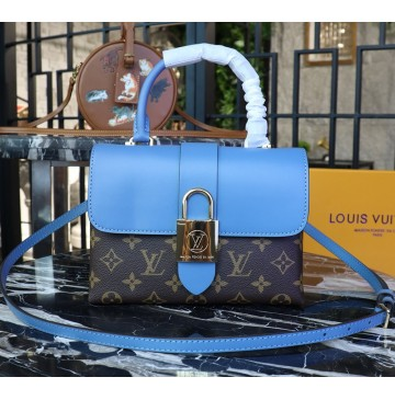 Louis Vuitton Monogram Canvas Locky BB Bleu Jean M44321