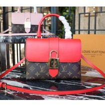 Louis Vuitton Monogram Canvas Locky BB Coquelicot M44322