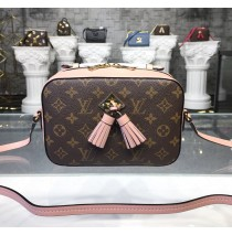 Louis Vuitton Monogram Canvas Saintonge Bag Rose Poudre M44442