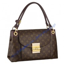 Louis Vuitton Monogram Olympe Bordeaux M40579