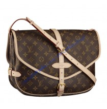 Louis Vuitton Monogram Canvas Saumur GM M40662