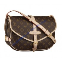 Louis Vuitton Monogram Canvas Saumur MM M40710