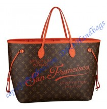 Louis Vuitton Neverfull GM San Francisco M40937