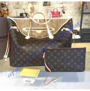 Louis Vuitton Monogram Canvas Neverfull GM M40990