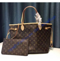 Louis Vuitton Monogram Canvas Neverfull MM M40995