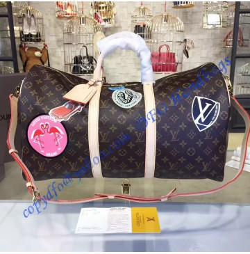 Louis Vuitton Monogram World Tour Keepall Bandouliere 50 M41441