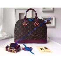 Louis Vuitton Monogram Totem Alma PM Magenta M41662