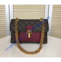Louis Vuitton Monogram Canvas Victoire Rose Red