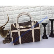Louis Vuitton Monogram Canvas Dog Carrier 50