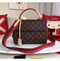 Louis Vuitton Monogram Canvas Cluny PM M42738