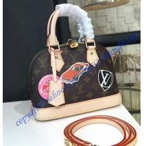 Louis Vuitton Monogram World Tour Alma BB M43230