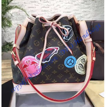 Louis Vuitton Monogram World Tour Petit Noe M43233
