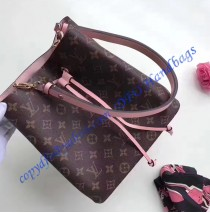 Monogram Canvas Neonoe Pink