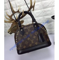 Louis Vuitton Studded Monogram Canvas Alma BB M41567