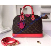 Louis Vuitton Monogram Totem Alma PM Flamingo M41661