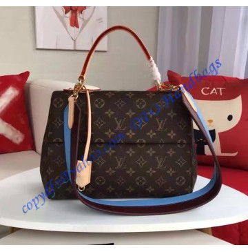 Louis Vuitton Monogram Canvas Cluny MM M42735