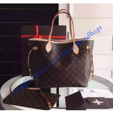 Louis Vuitton Monogram Canvas Neverfull MM M50366
