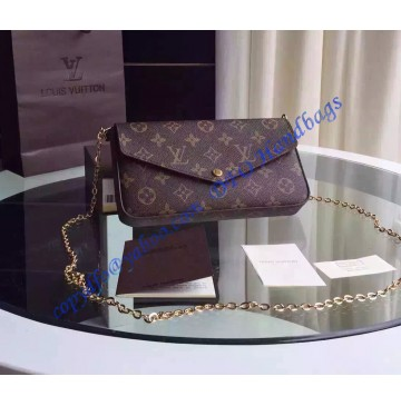 Louis Vuitton Monogram Canvas Pochette Felicie M61276