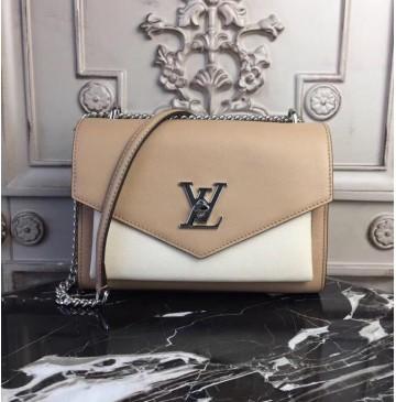 Louis Vuitton Mylockme BB Papyrus Creme M51424