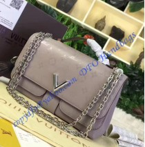 Louis Vuitton Very Chain Bag Gray
