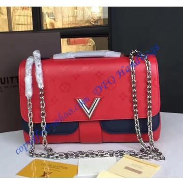 Louis Vuitton Very Chain Bag Rouge rubis M42901