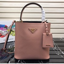 Prada North South Double Bag Pink