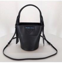 Prada Ouverture nylon bucket bag Black