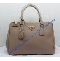 Prada Saffiano Leather Tote P1801 light pink