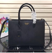 Saffiano Leather Tote Large Black