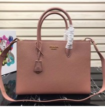 Prada Saffiano Leather Tote Large Pink