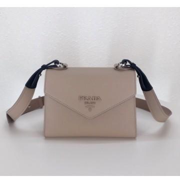 Prada Monochrome Saffiano leather bag Nude Pink
