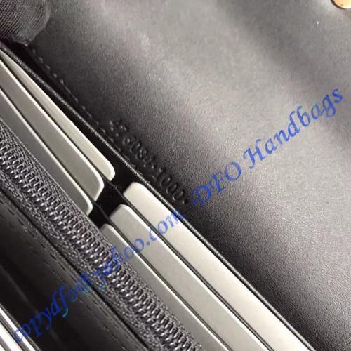 3eea0155b4f Gucci Sylvie leather continental wallet Black