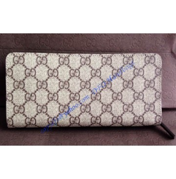 Gucci Long Zippy Wallet GU-W240809CA brown
